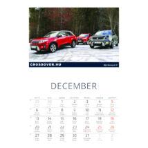 Suzuki Vitara naptár 2021