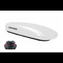 MENABO Mania 460 Duo tetőbox fényes fehér